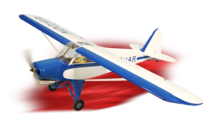 PH117 – SUPER CUB PA-18 SCALE 1:4 ½ Size 1.20/20cc ARF