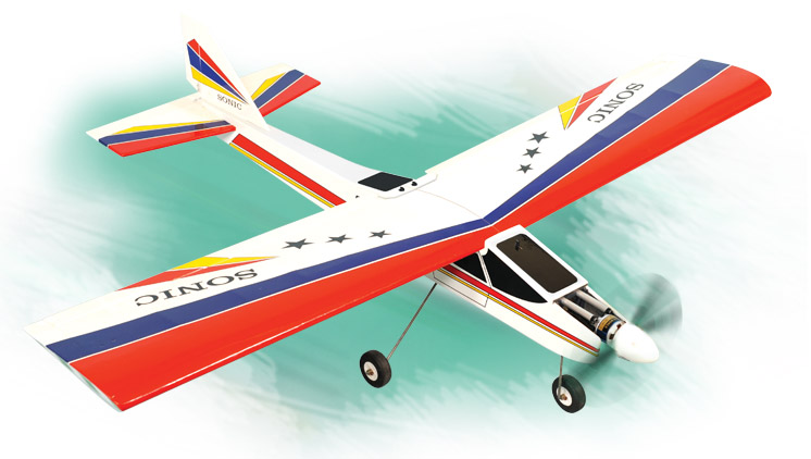 PH124 – SONIC HIGH WING MK2 GP/EP.25-.32   ARF SCALE 1:10