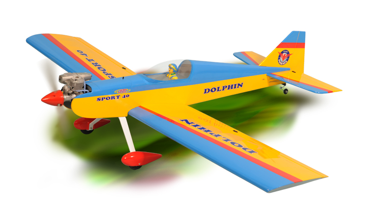 PH126 – DOLPHIN MK2 GP/EP .46-.55  ARF SCALE 1:6