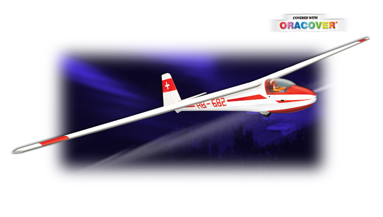 GL03 - Ka-8b ELECTRIC 3500 ARF 1/4 ¼ SCALE