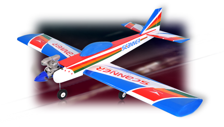 PH006 – SCANNER .46-.55 SCALE 1:7 ARF