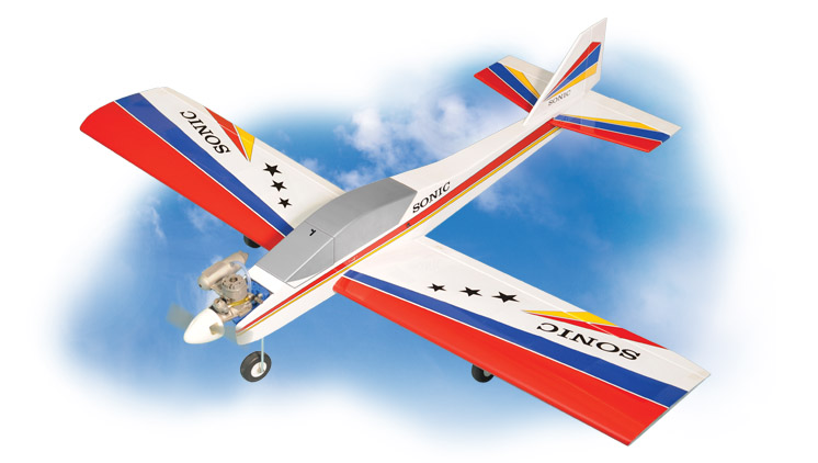 PH125 – SONIC LOW WING MK2 GP/EP.25-.32   ARF SCALE 1:10