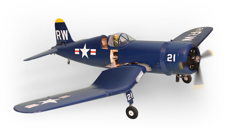 PH129 – F4U CORSAIR  60CC SCALE 1:5 ½ ARF