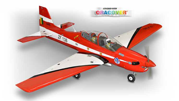 PH042 - TUCANO SCALE 1:7  ARF .46-.55