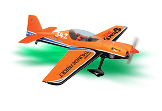 PH096 – SBACH 342 GP/EP .46-.55 SCALE 1:5 ¼  ARF