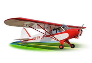 PH114 – SUPER CUB  PA-18 SCALE 1:4 Size 30cc ARF