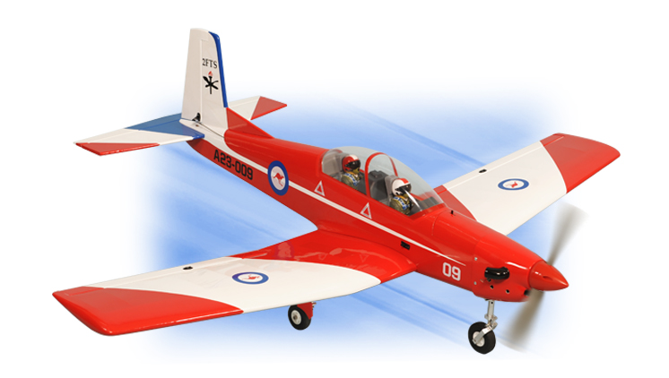 PH118 – PC9 PILATUS  GP/EP SCALE 1:7  ARF .46-.55