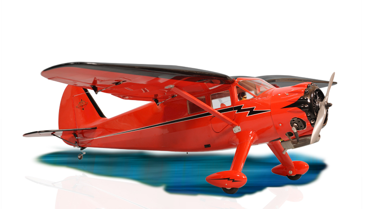 PH130 - STINSON RELIANT GP/EP SIZE .91/15CC SCALE 1:7  ARF