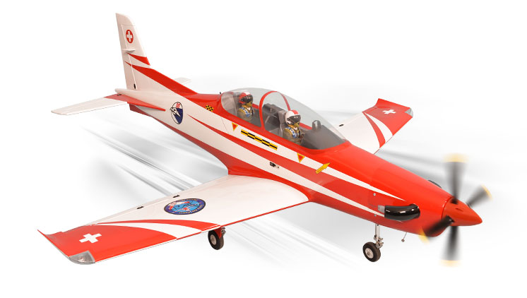 PH134 –  PC21 PILATUS GP/EP SIZE .91/15CC SCALE 1:6 ¼   ARF