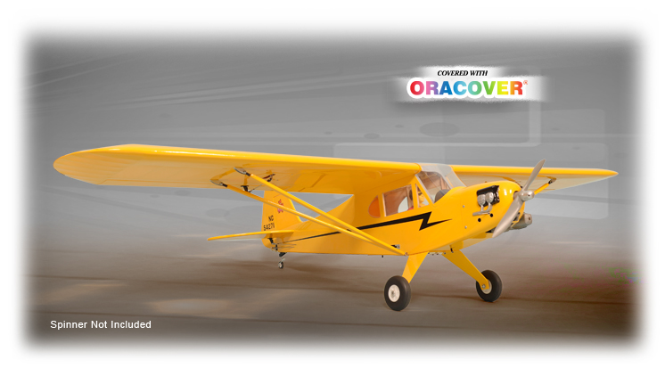 PH147– Piper J-3 Cub GP/EP SIZE .46-.55 SCALE 1:5 ARF