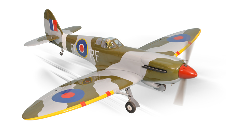 PH151 – SPITFIRE GP/EP Size 20-30cc SCALE 1:6 ¼   ARF