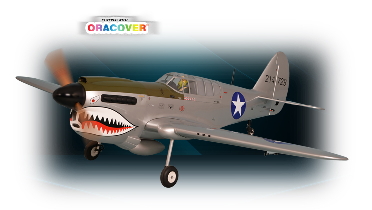 PH159 – P40 WARHAWK GP/EP  30/35cc SCALE 1:4 ¾  ARF