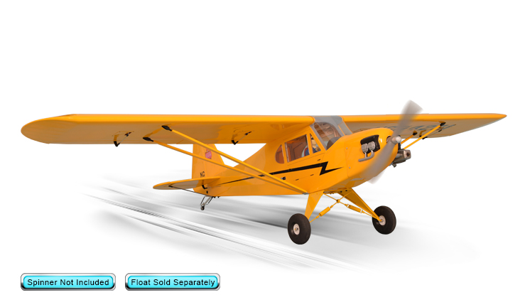 PH160– PIPER J3 CUB GP/EP Size .120/20cc Scale 1:4 ¾ ARF