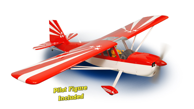 PH164 – DECATHLON Size.120/20CC GP/EP SCALE 1:4 ¼ ARF