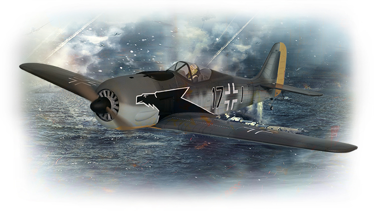 PH192– FOCKE-WULF  FW190 GP/EP 16% Size .120 Or 20cc ARF