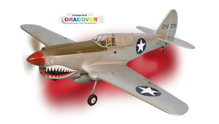PH137 – P40 KITTY HAWK GP/EP Size .91/15cc SCALE 1:7ARF